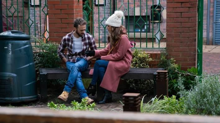 David and Maria - Coronation Street - ITV