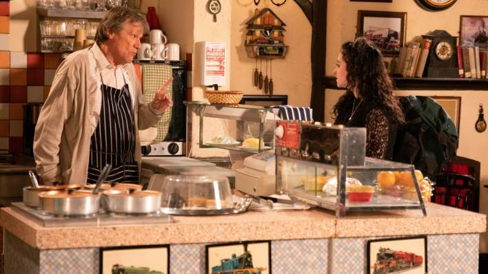 Roy and Nina - Coronation Street - ITV