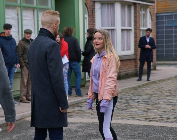 Gary, Kelly and Adam - Coronation Street - ITV