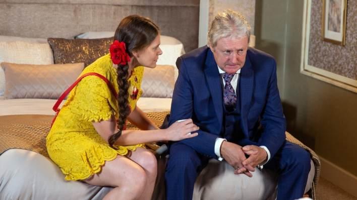 Hannah and Jim - Coronation Street - ITV