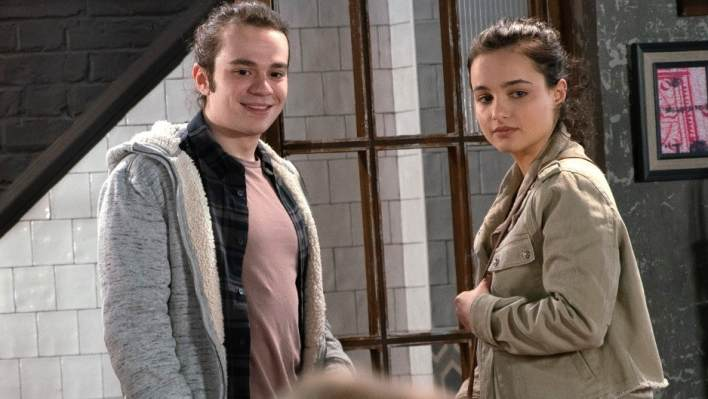Seb and Alina - Coronation Street - ITV