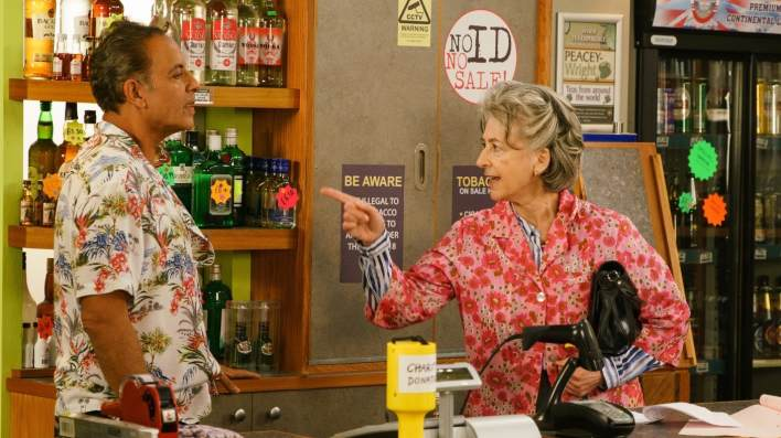 Dev and Evelyn - Coronation Street - ITV