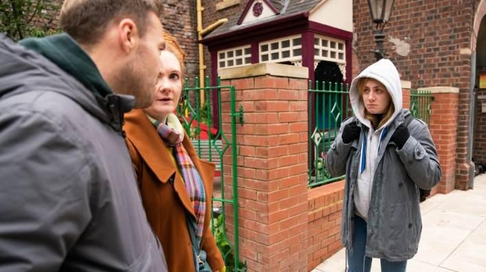 Tyrone, Fiz and Jade - Coronation Street - ITV