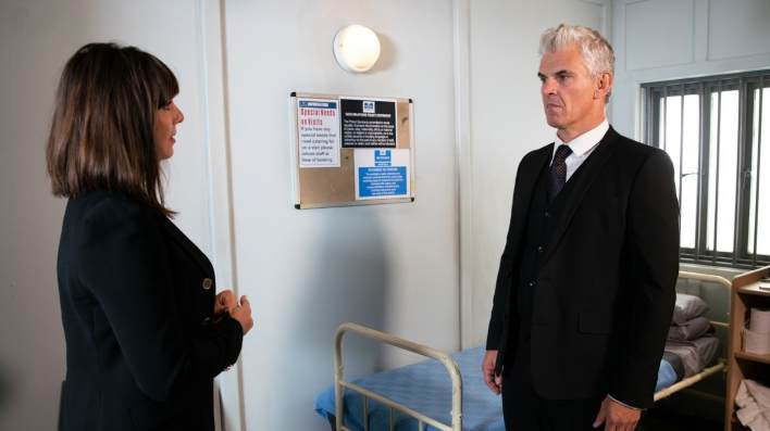 Paula and Robert - Coronation Street - ITV