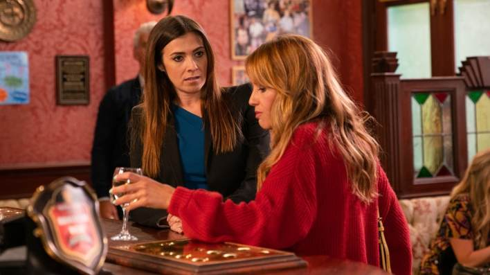 Michelle and Maria - Coronation Street - ITV