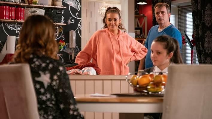 Amy, Steve, Tracy and Vicky - Coronation Street - ITV