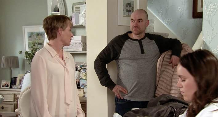 Sally, Tim and Faye - Coronation Street - ITV