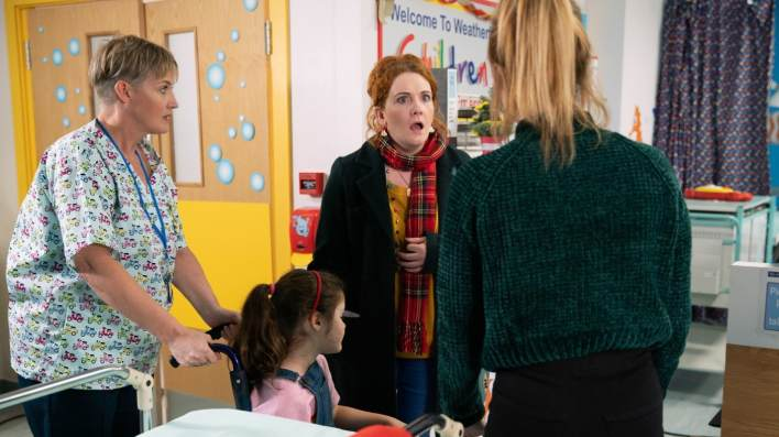 Nurse, Hope, Fiz, Jade - Coronation Street - ITV