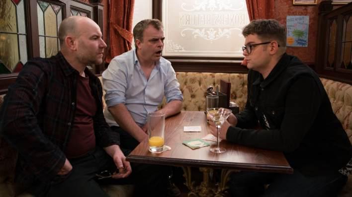 Tim, Steve and Jay - Coronation Street - ITV