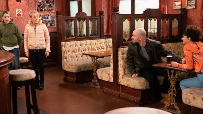 Abi, Sally, Tim and Charlie - Coronation Street - ITV