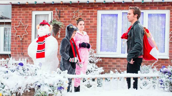 Max, Kylie and David - Coronation Street - ITV
