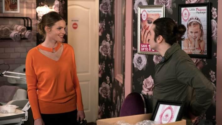 Rachel and Seb - Coronation Street - ITV