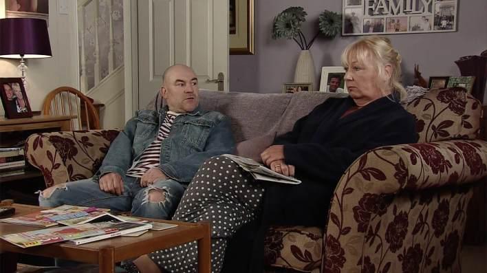 Tim and Eileen - Coronation Street - ITV