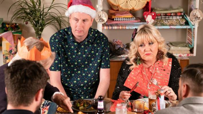 Ken, Kirk and Beth - Coronation Street - ITV