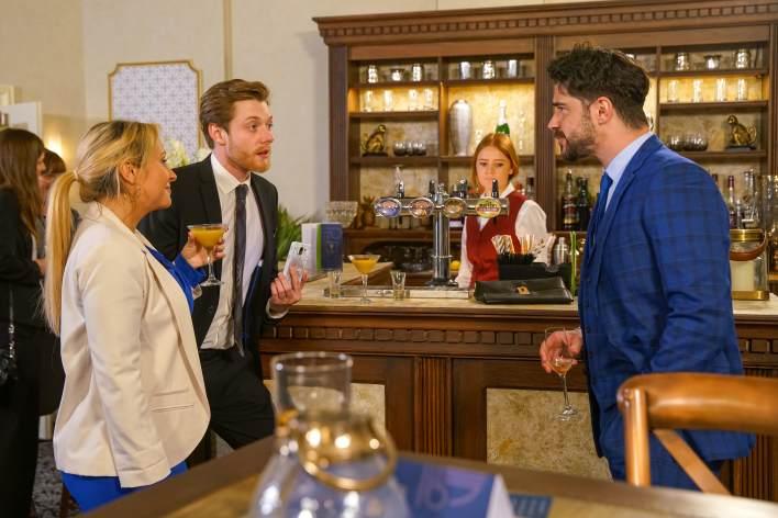 Daniel, Adam and Nicky - Coronation Street - ITV