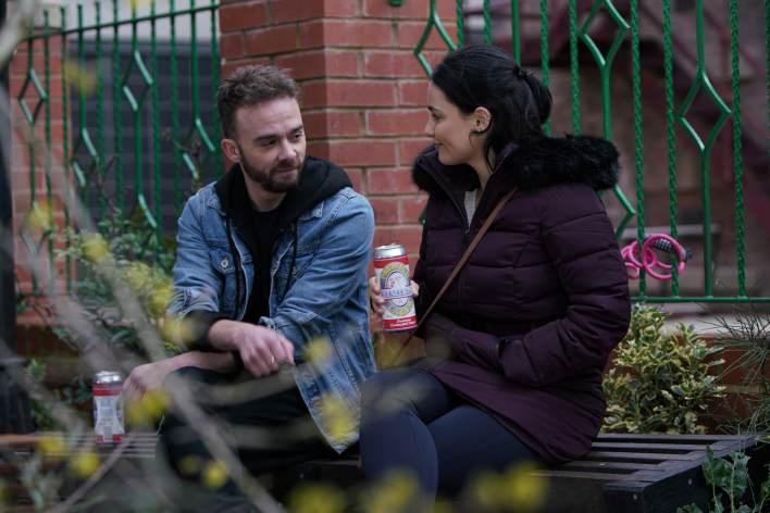 David and Alina - Coronation Street - ITV