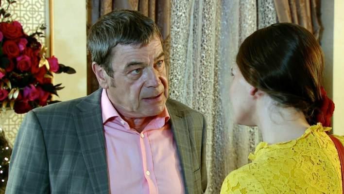 Johnny and Hannah - Coronation Street - ITV