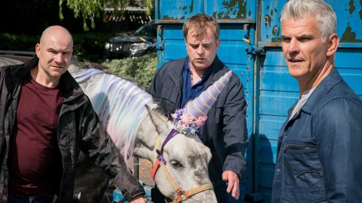 Tim and Steve, Robert - Coronation Street - ITV