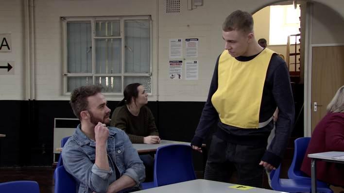 David and Clayton - Coronation Street - ITV