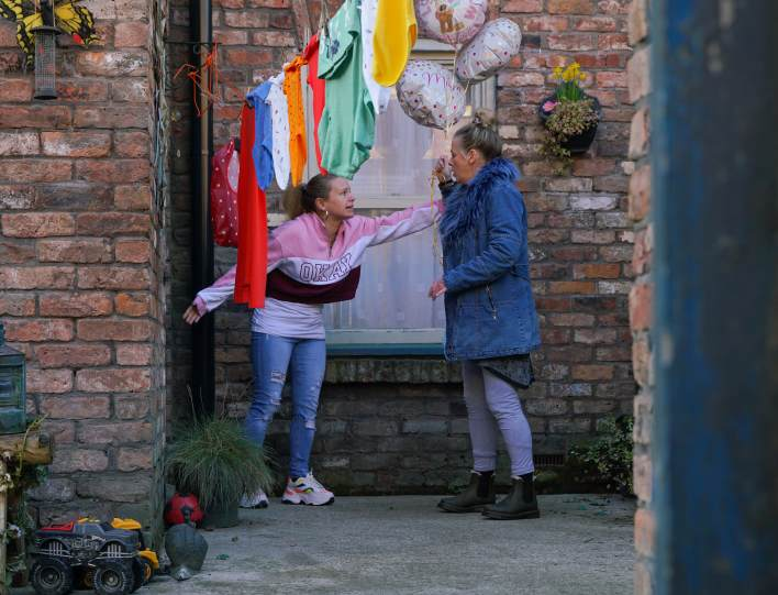 Gemma and Bernie - Coronation Street - ITV