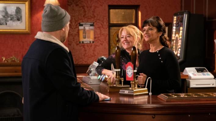 Tim, Jenny and Charlie - Coronation Street - ITV