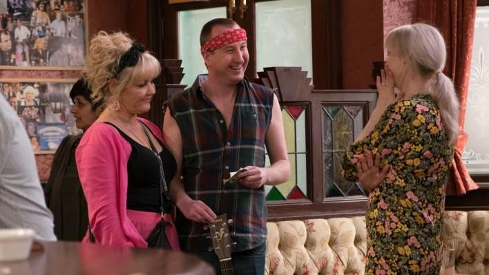 Beth, Sinead and Kirk - Coronation Street - ITV