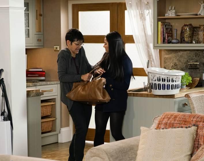 Alya and Yasmeen - Coronation Street - ITV
