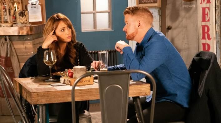 Maria and Gary - Coronation Street - ITV