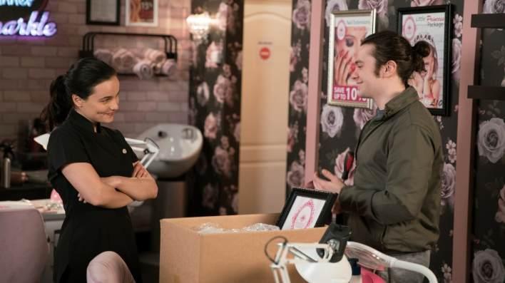 Alina and Seb - Coronation Street - ITV