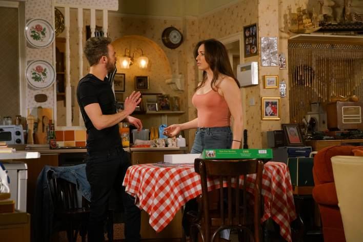David and Shona - Coronation Street - ITV