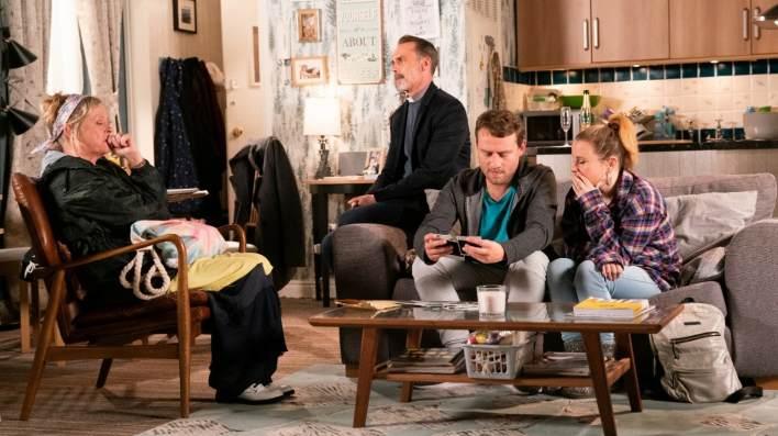 Bernie, Billy, Paul and Gemma - Coronation Street - ITV