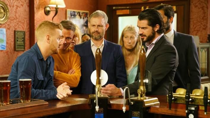 Gary, Sean, Nick and Adam - Coronation Street - ITV
