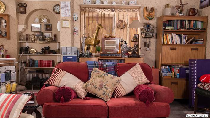 Roy's Flat - Coronation Street - ITV