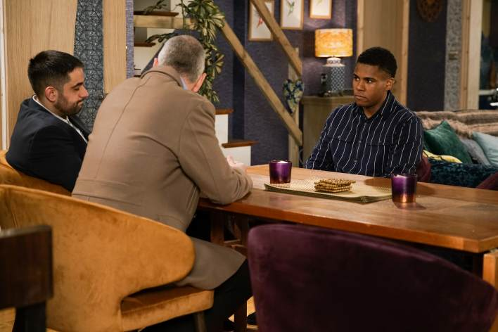James and his management - Coronation Street - ITV