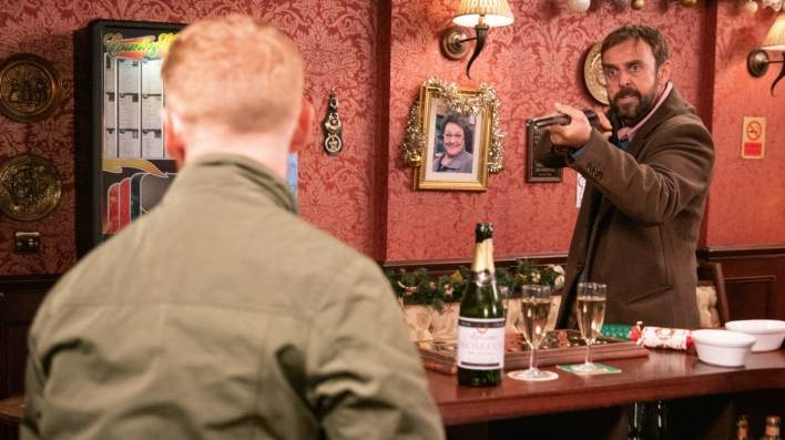 Gary and Derek - Coronation Street - ITV