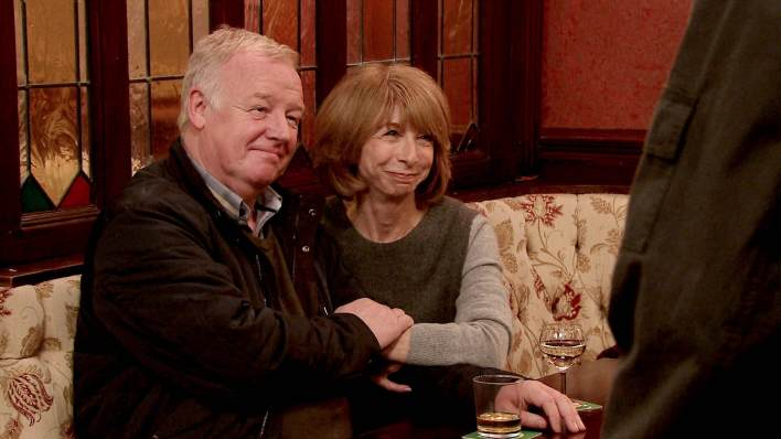Michael and Gail - Coronation Street - ITV
