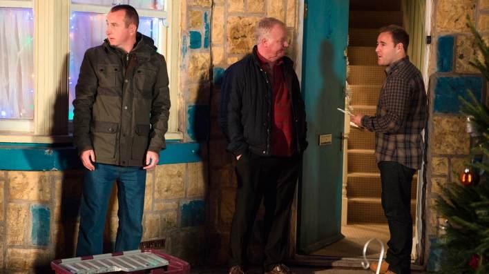 Kirk, Michael and Tyrone - Coronation Street - ITV