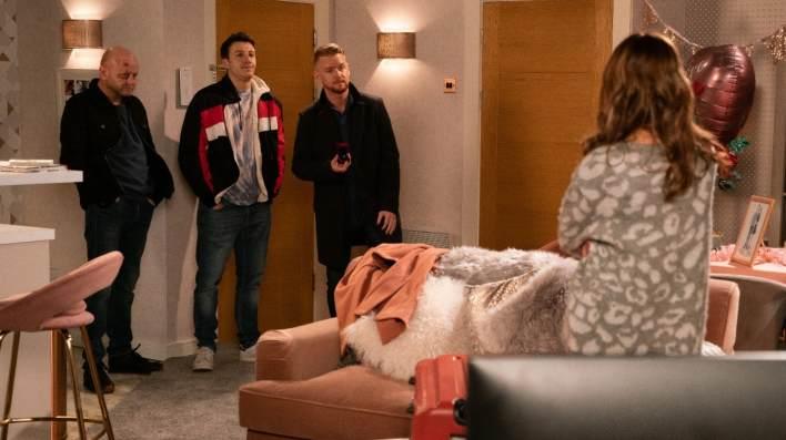 Maria, Gary, Ryan and Ike - Coronation Street - ITV