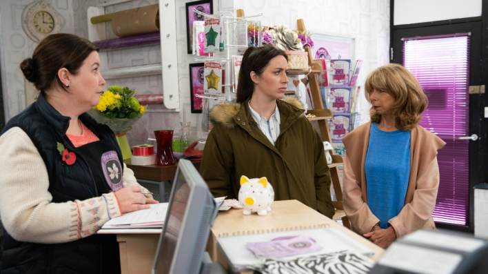 Mary, Shona and Gail - Coronation Street - ITV