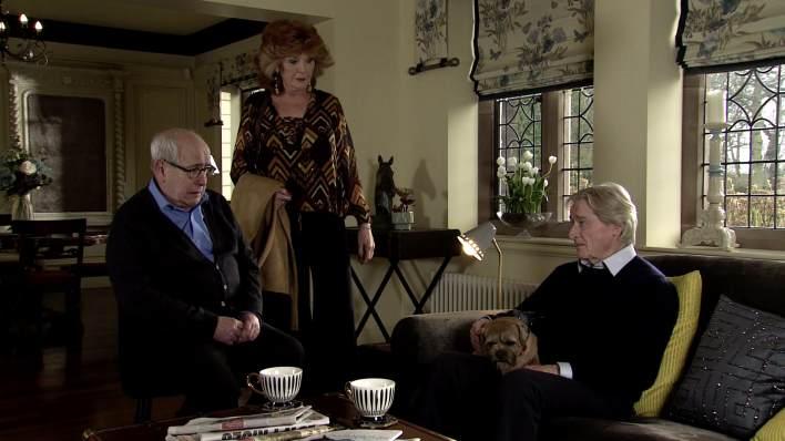 Norris, Claudia, Ken and Eccles - Coronation Street - ITV