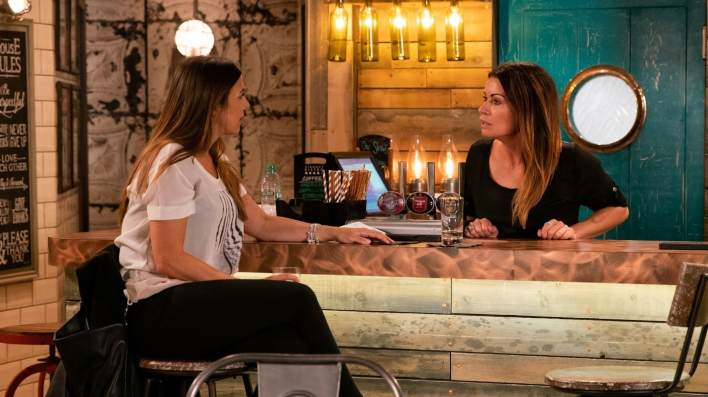 Michelle and Carla - Coronation Street - ITV