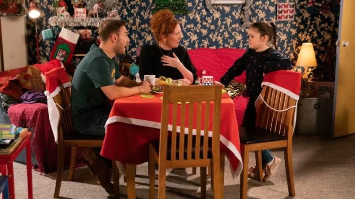 Tyrone, Fiz and Hope - Coronation Street - ITV