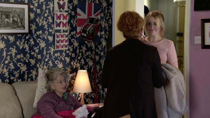 Evelyn, Fiz and Jade - Coronation Street - ITV