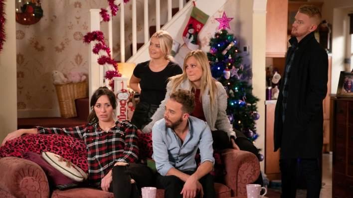Shona, Bethany, David, Sarah and Gary - Coronation Street - ITV