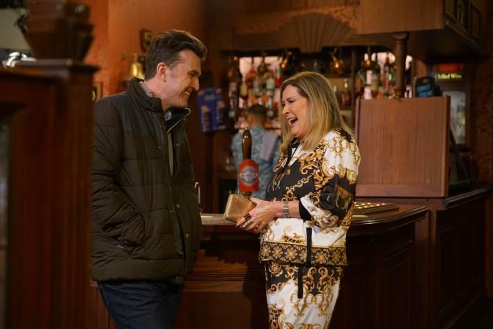Liz and Scott - Coronation Street - ITV
