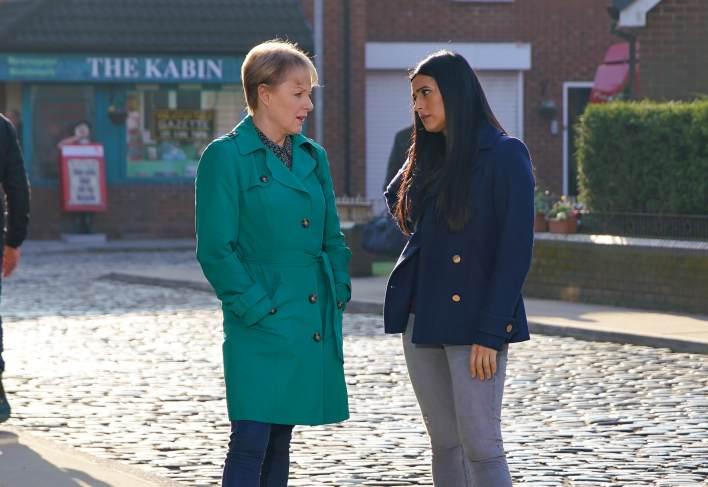 Alya and Sally - Coronation Street - ITV