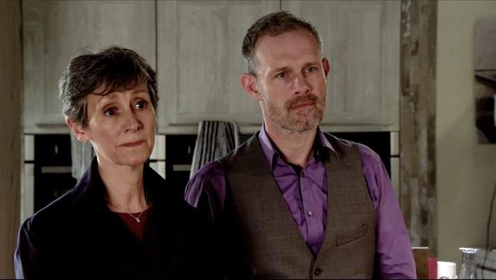 Nick and Dr Gaddas - Coronation Street - ITV
