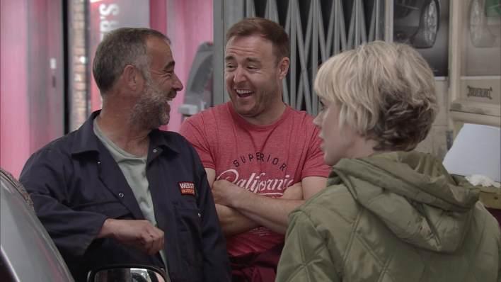 Kevin, Tyrone and Abi - Coronation Street - ITV