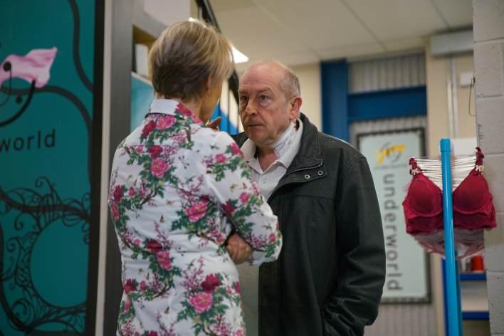 Sally and Geoff - Coronation Street - ITV