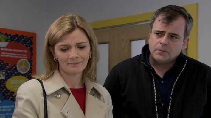 Leanne and Steve - Coronation Street - ITV